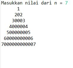 Membuat Pola Segitiga Angka Pada Java