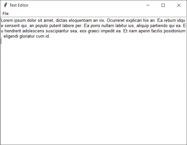 Membuat Text Editor Seperti Notepad di Python