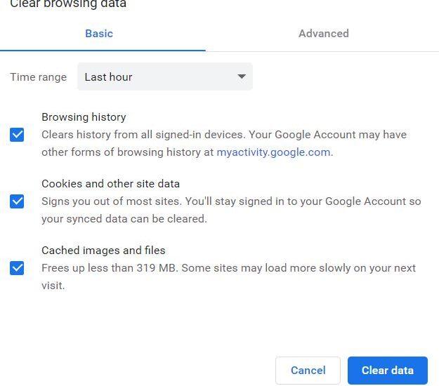 Cara Menghapus Data Browsing Chrome Menggunakan Shortcut Pada Keyboard