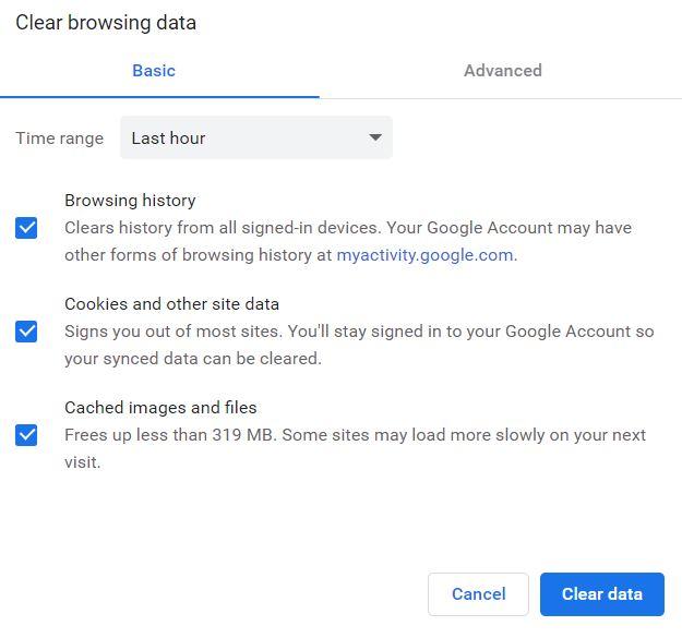 Cara Menghapus Data Browsing Chrome Menggunakan Shortcut Pada Keyboard - Inpows